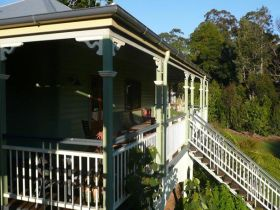 The Sanctuary Springbrook. Guest House / Cottage - Accommodation Newcastle
