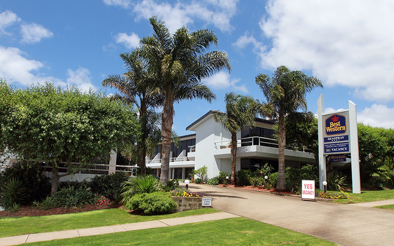 BEST WESTERN Sea Spray Motel - Accommodation Newcastle