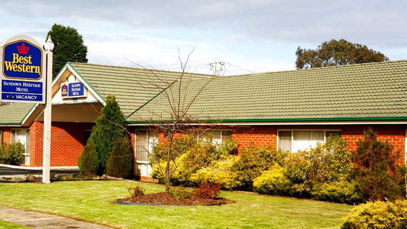 BEST WESTERN Sandown Heritage Motel - Accommodation Newcastle