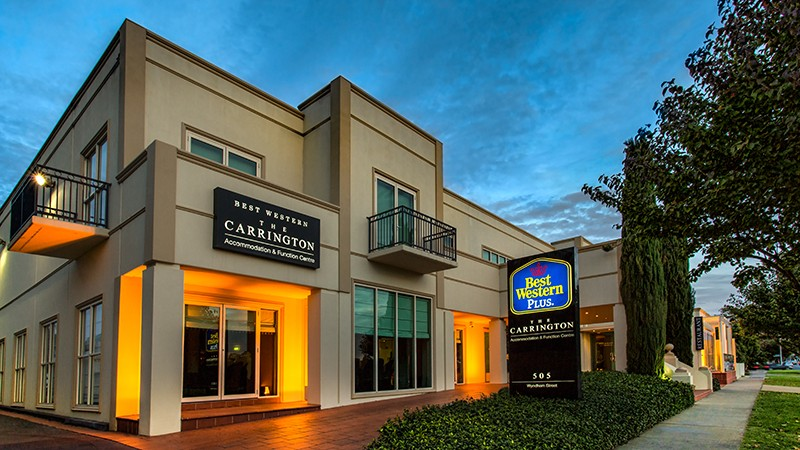 BEST WESTERN PLUS The Carrington - Accommodation Newcastle