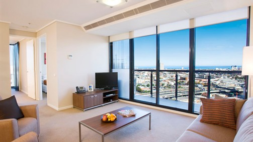 Melbourne Short Stay Apartments - Southbank Central - Accommodation Newcastle