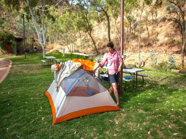 Standley Chasm Angkerle Camping - Accommodation Newcastle