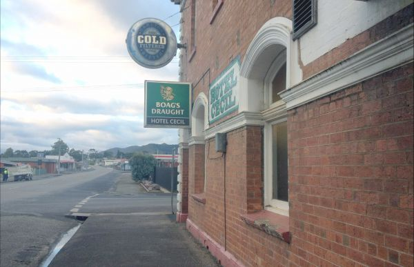 Cecil Hotel Zeehan - Accommodation Newcastle