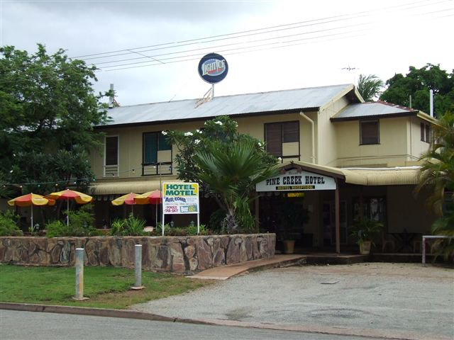 Pine Creek Hotel/Motel - Accommodation Newcastle