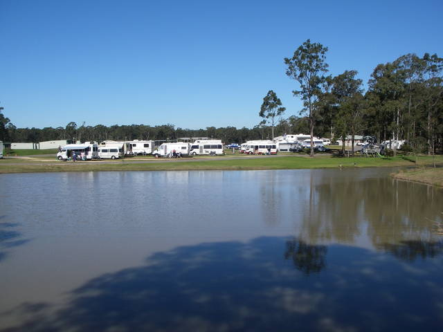 Australian Motor Homes Tourist Park - Accommodation Newcastle