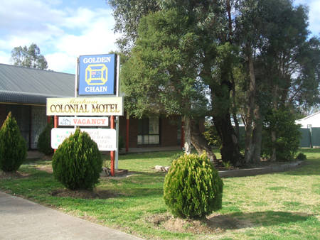Barham Colonial Motel - Accommodation Newcastle