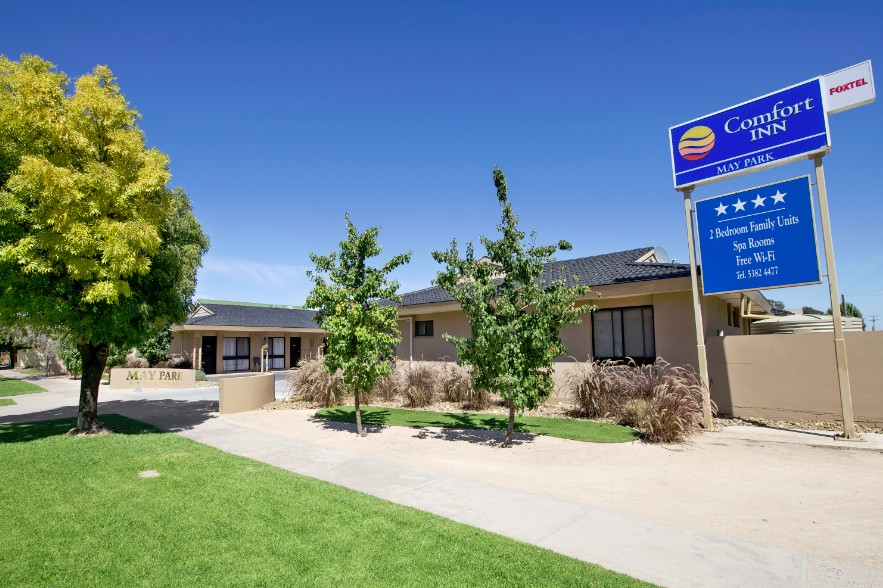Comfort Inn May Park - Accommodation Newcastle