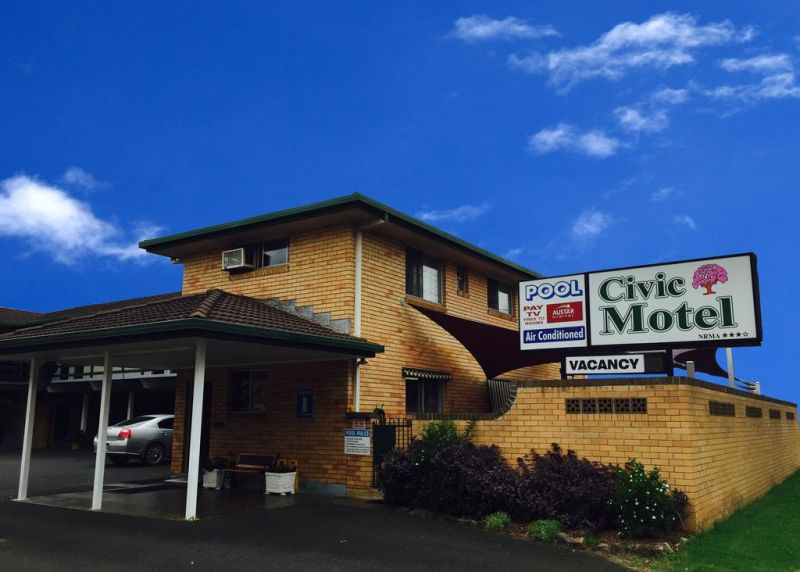 Civic Motel Grafton - Accommodation Newcastle