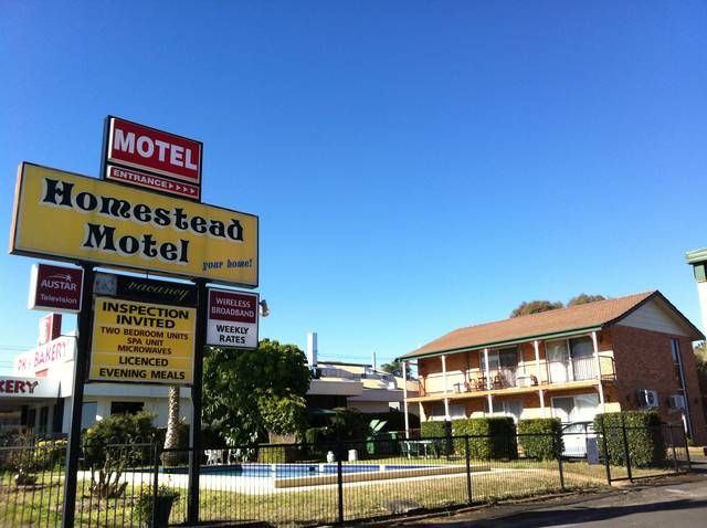 Homestead Motel - Accommodation Newcastle