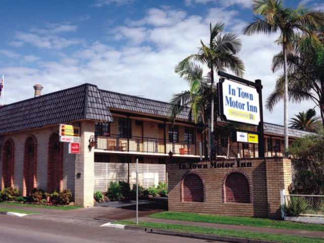 In Town Motor Inn - Accommodation Newcastle