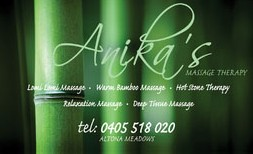 Anikas Massage Therapy - Accommodation Newcastle