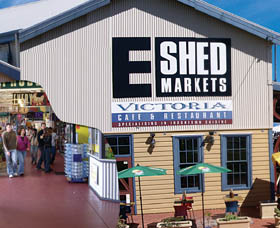 The E Shed Markets - Accommodation Newcastle