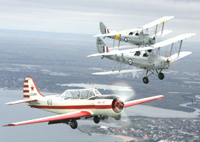 Vintage Tiger Moth Joy Flights - Accommodation Newcastle