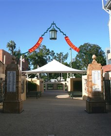 Gympie and Widgee War Memorial Gates - Accommodation Newcastle