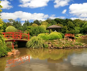 Japanese Gardens - Accommodation Newcastle