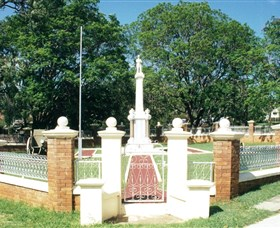 Boonah War Memorial and Memorial Park - Accommodation Newcastle