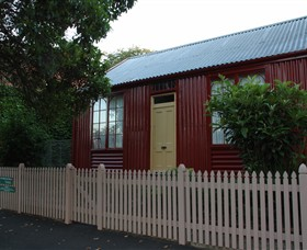 19th Century Portable Iron Houses - Accommodation Newcastle