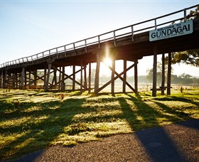 Historic Bridges of Gundagai - Accommodation Newcastle