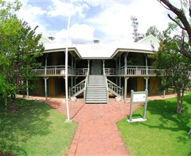 Moree Lands Office Historical Building - Accommodation Newcastle
