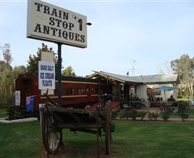 Train Stop Antiques - Accommodation Newcastle
