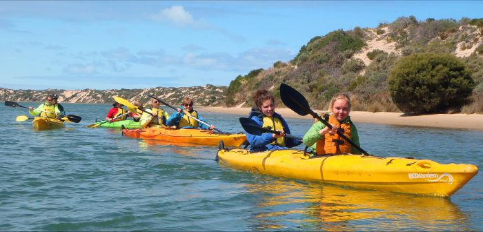 Canoe the Coorong - Accommodation Newcastle