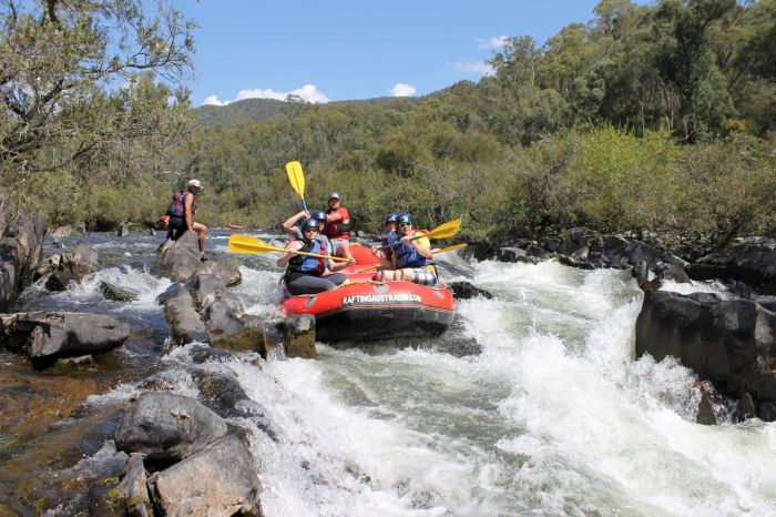 Rafting Australia - Accommodation Newcastle