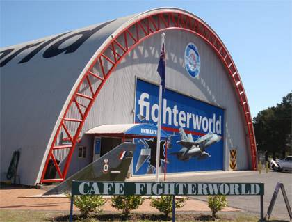 Fighter World Aviation Museum - Accommodation Newcastle