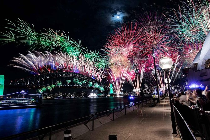 New Year's Eve under the Sydney Opera House Sails on Sydney Harbour - Accommodation Newcastle