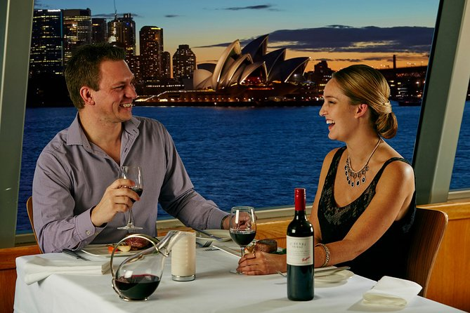 Sydney Harbour Sky Deck Gold Penfolds Dinner Cruise - Accommodation Newcastle