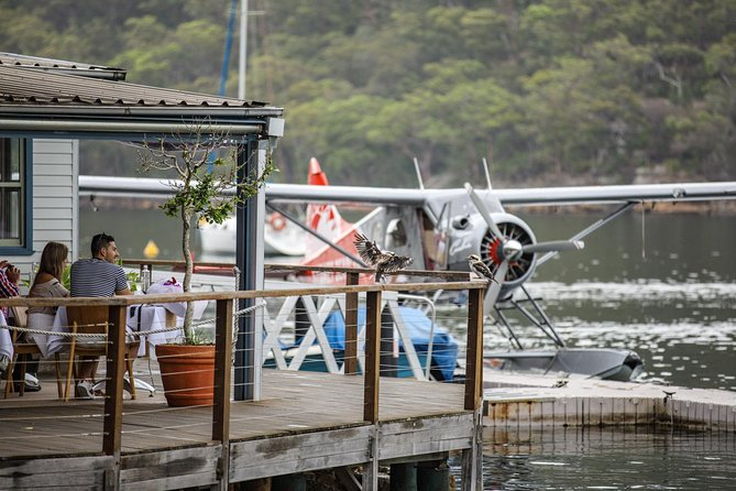 Lunch at Cottage Point Inn by Seaplane from Sydney - Accommodation Newcastle