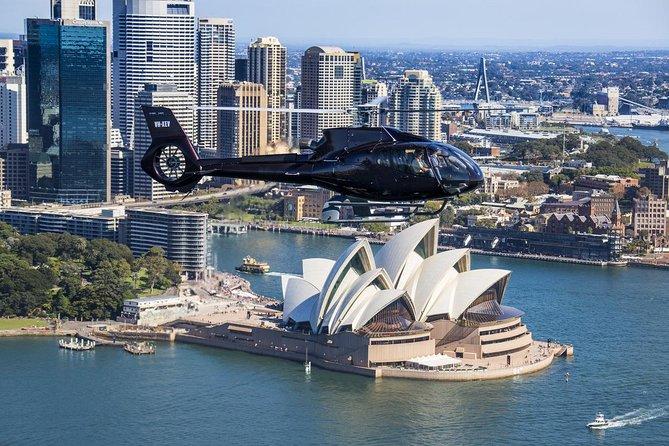 Sydney Harbour Tour by Helicopter - Accommodation Newcastle
