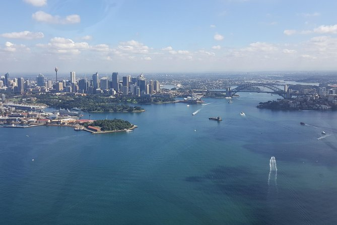 30-Minute Sydney Harbour and Olympic Park Helicopter Tour - Accommodation Newcastle