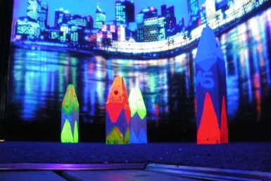Family Fun Centres Black Light Mini Golf - Accommodation Newcastle