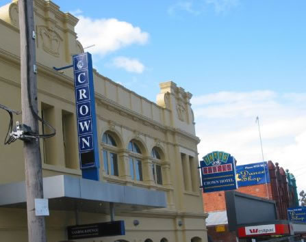 Crown Hotel Lilydale - Accommodation Newcastle