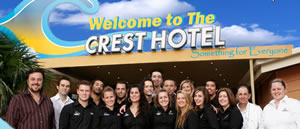 The Crest Hotel Sylvania - Accommodation Newcastle