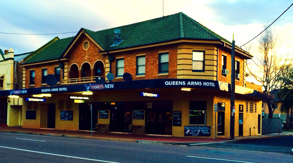 Queens Arms Hotel - Accommodation Newcastle