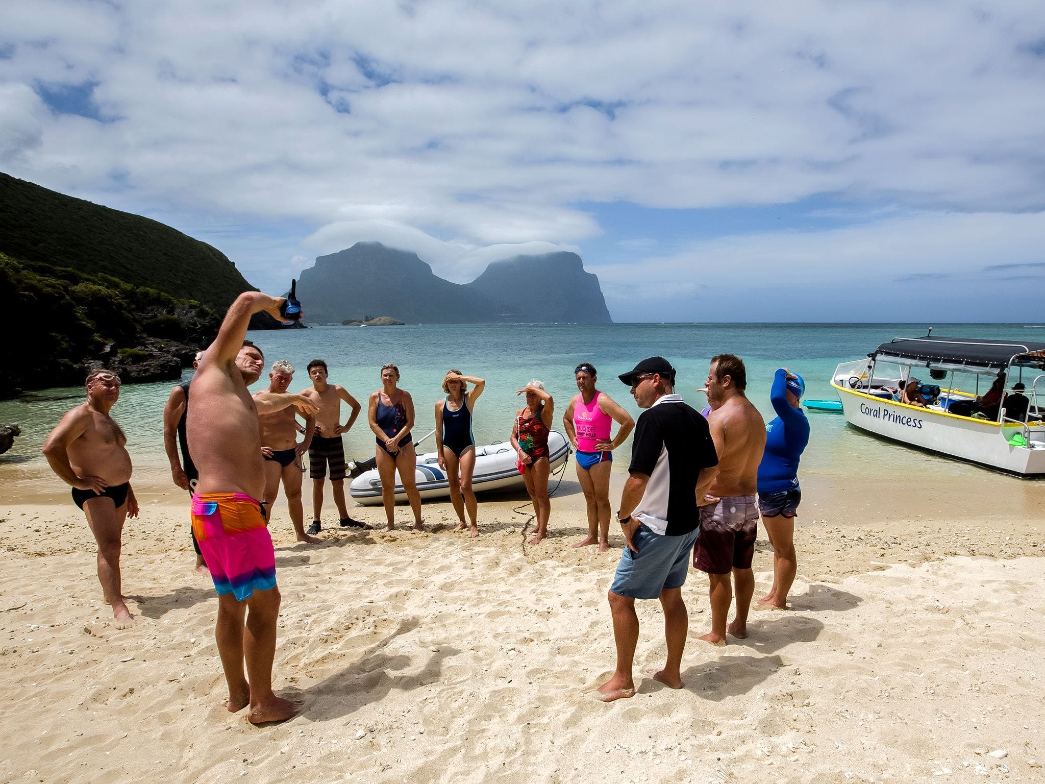 Ocean Swim Week with Trevor Hendy Pinetrees Lord Howe Island - Accommodation Newcastle