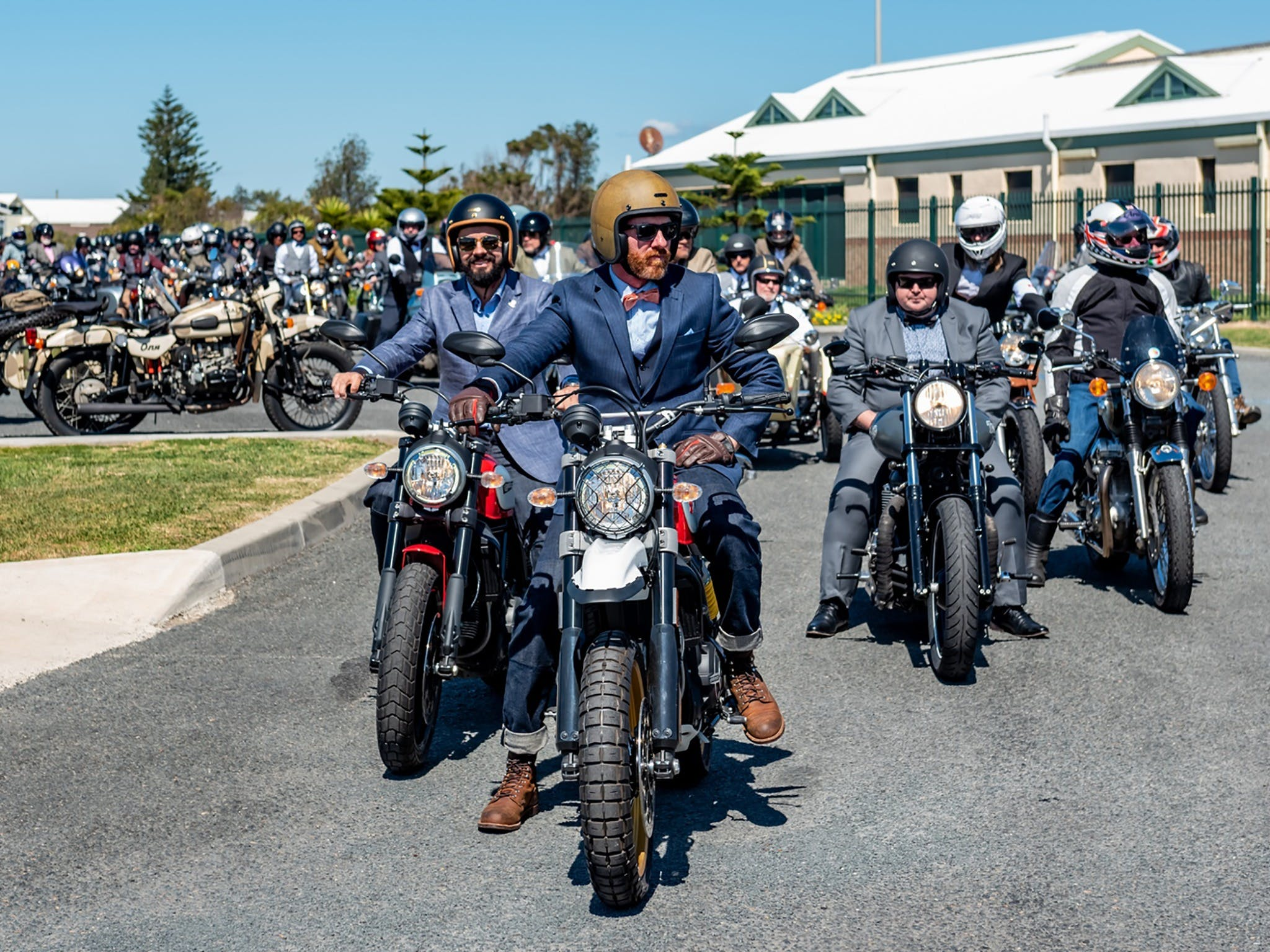 The Distinguished Gentleman's Ride - Wollongong - Accommodation Newcastle