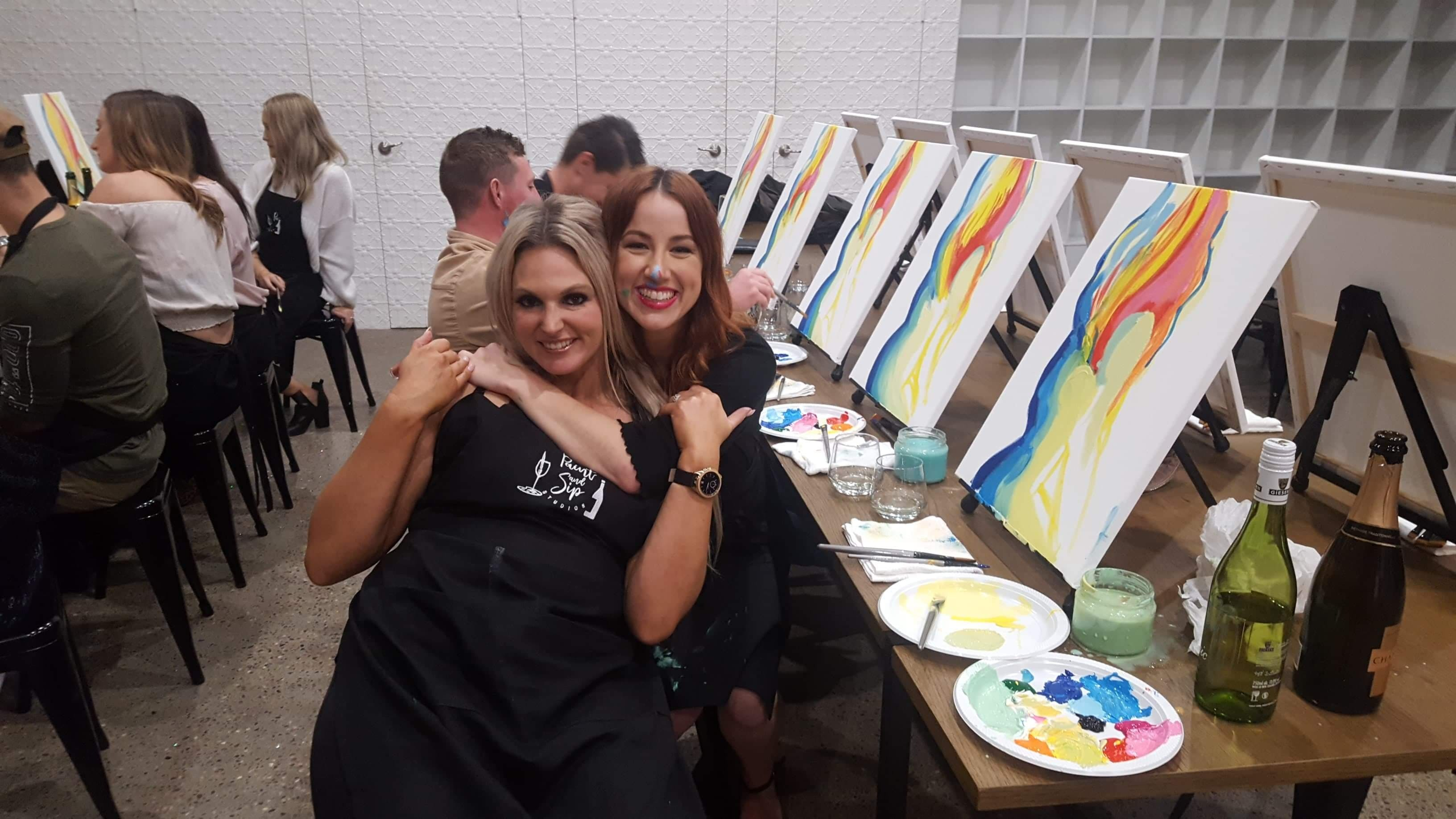 Paint and Sip Experience - Accommodation Newcastle