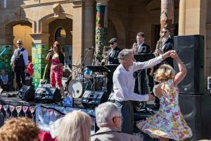 Jumpers and Jazz in July Festival - Accommodation Newcastle