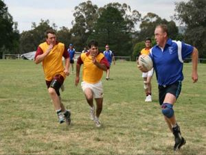 Veterans Touch Footy Carnival - Accommodation Newcastle