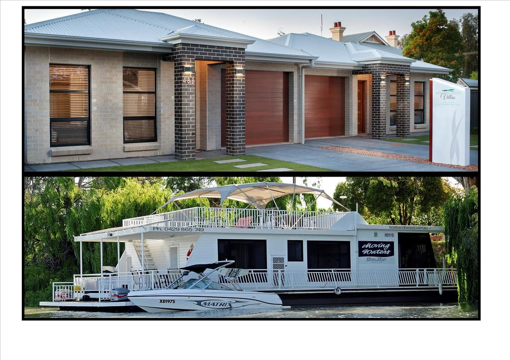 Renmark River Villas and Boats  Bedzzz - Accommodation Newcastle