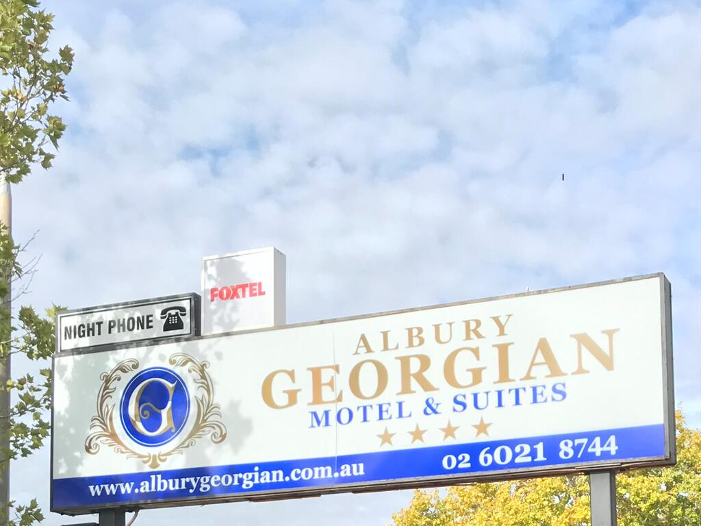 Albury Georgian Motel  Suites - Accommodation Newcastle